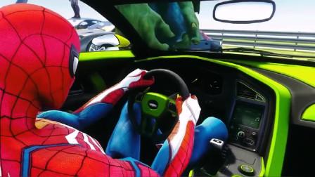 蜘蛛侠:超级英雄汽车集,蜘蛛侠,蚂蚁侠,小悟空,女侠蝙蝠侠!