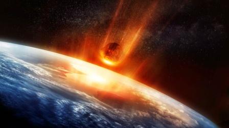 模拟地球:地球被一颗一百亿吨的陨石撞击会怎样?四大海洋没有了