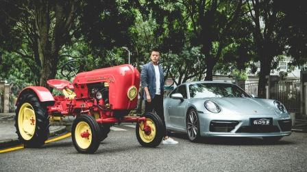 开它比开超跑还紧张!开最新911体验60岁的保时捷拖拉机
