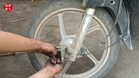 调节一个螺丝就能让刹车片多用几年不换?别不信,试过后真的可以