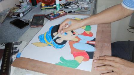 少儿卡通米老鼠的画法