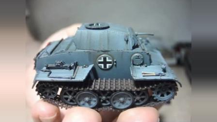 鸟翔2号坦克模型修理闲谈