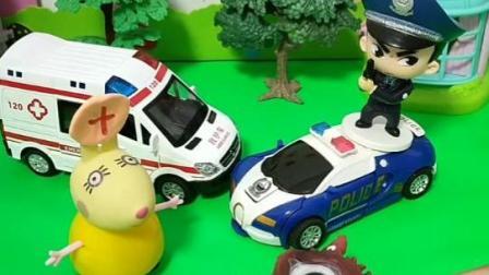 怪兽到底去警察局还是去医院!