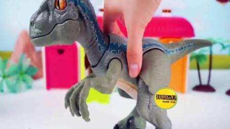 车库的小恐龙变成大恐龙