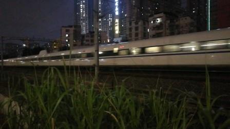 (南宁市园湖北路)DJ1008次列车 昆明南→南宁东(CRH2C-2150)