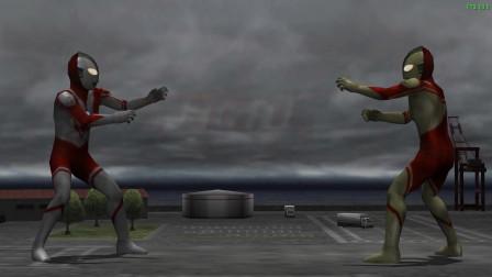 奥特曼格斗进化:被炎头队长一个大招秒掉了!