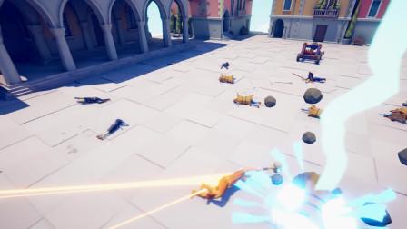 全面战争模拟器:国王兵种横扫千军!
