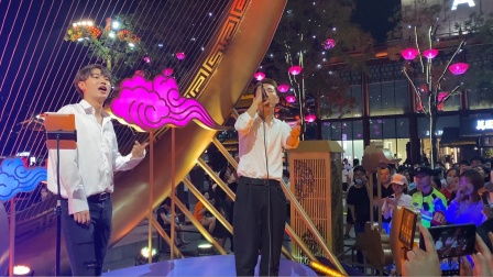 西安大唐不夜城唱《夜曲》的两个小哥哥,你pick哪一个?