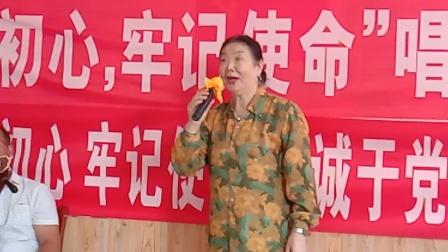 穆家口业余剧社朱姐演唱李奎探母选段京胡李明武,司鼓王作祥,