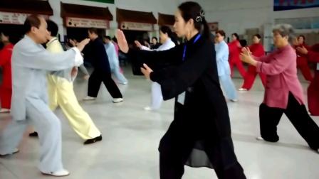 眉县红河谷培训基地我的恩师李海水先生太极拳实训课堂