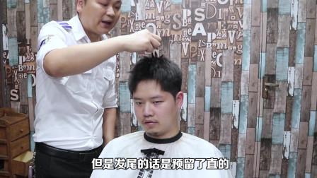 理发师把刘海剪掉的那一刻,在他眼神看到了绝望!最后效果却逆袭