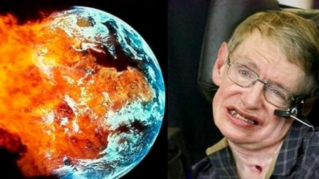 霍金五大预言警醒人类,地球正在不断恶化,最后一个或将实现!