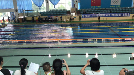 【梦觉游泳比赛】4x50米自由泳接力|第四泳道