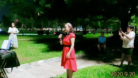 刘老师演唱《挡不住的思念》深圳宝安西乡
