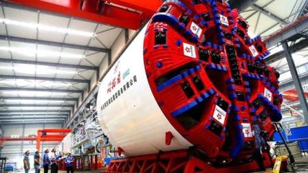 """中国跨越""""悬河天险"""",打通黄河底部,两台盾构机""""应运而生""""!"""