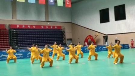 滨城区代表队2020.9.20参加滨州市中老年八段锦比赛,获得第一名。