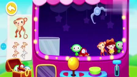 宝宝巴士动画片:小猴子闹闹梦见自己是快递员