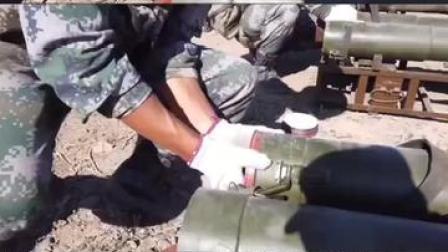 超燃!快来一起感受新疆军区某团实弹射击演练现场!