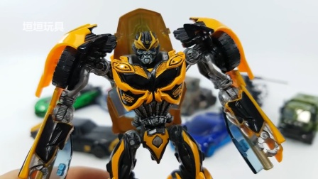 变形金刚电影4大黄蜂漂移擎天柱十字准线猎犬汽车直升机机器人玩具