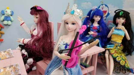叶罗丽故事 冰公主的小提琴好漂亮,快听她拉小提琴吧