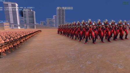 史诗战争模拟器:杰斯提斯奥特曼VS非洲士兵