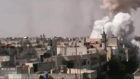 叙利亚战场实录:近在咫尺的炮弹袭击场面,隔着屏幕都能感到死亡气息,军人能活是奇迹
