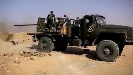 叙利亚战场实录:绝地反击!代尔祖儿由守转攻,现场惊险又刺激