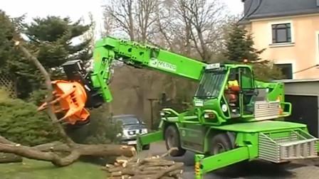 德国先进的木材机械!这也太厉害了,机械化程度令人佩服