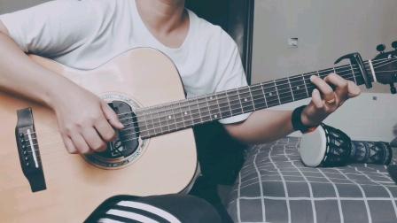 吉他弹唱《漂洋过海来看你》