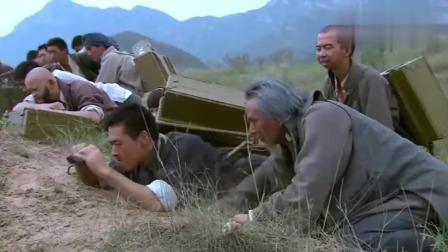 影视:缴获一大车手雷,没想到半路碰上日军大部队,瞬间日军全部升天