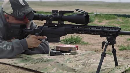 TAC A1狙击步枪射击远距离标靶,用百发百中来形容最合适