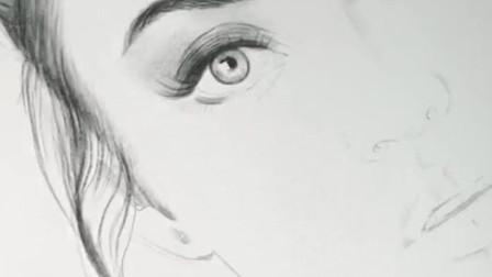 【板绘人像】用iPad画一个小姐姐~过程倍速