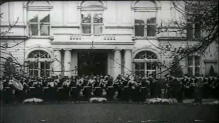 1939年4月20日,納粹德國獨裁者阿道夫•希特勒50歲生日時的煽情演講