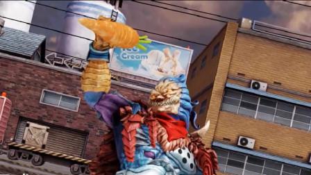 铠甲勇士街机游戏 第六弹魔星天塔 猛触能招式展示 最新搞笑担当登场!有胡萝卜怎么啦?!