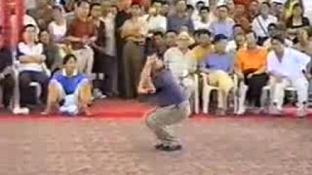 王世泉老师八极拳表演