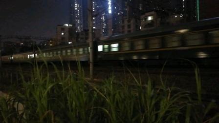 (南宁市园湖北路)Y492次列车 昆明→黎塘