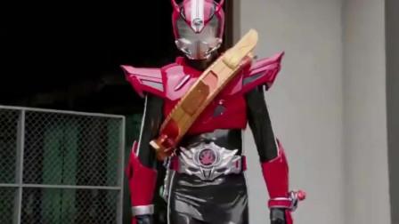 假面骑士:升级装备果然不一样,战斗力瞬间强了好几倍!