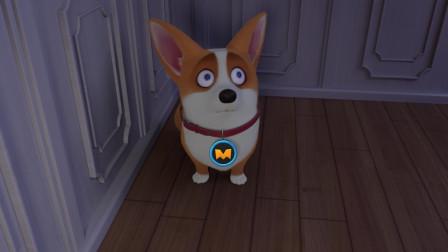 飞狗MOCO:梦里还是逃脱不了主人狼牙棒的毒打