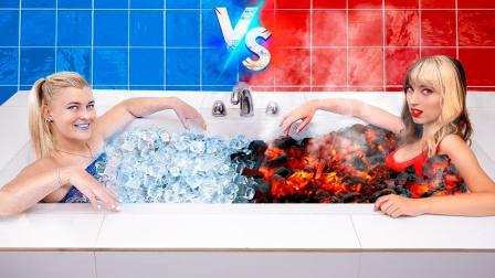 选美大比拼?火焰女孩挑战冰冷女孩,全程惊险又搞笑!