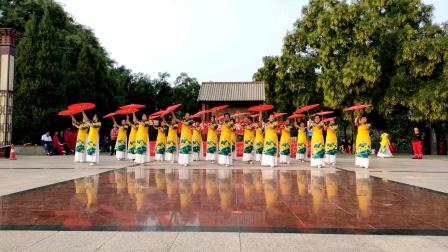 赵县总工会与赵县旗袍协会庆十一演唱会《江南雨》