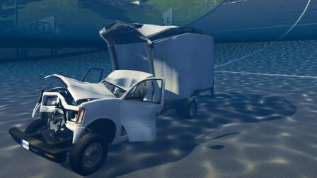 车祸模拟器-水对高速行驶汽车的破坏有多大