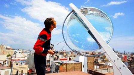 """德国建筑师神奇发明,发电""""神器""""水晶球,太阳能或将被淘汰!"""