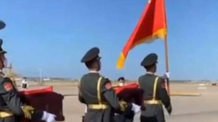 祖国接你们回家!第七批117位在韩志愿军烈士遗骸归国。山河无恙,英雄归来!致敬!