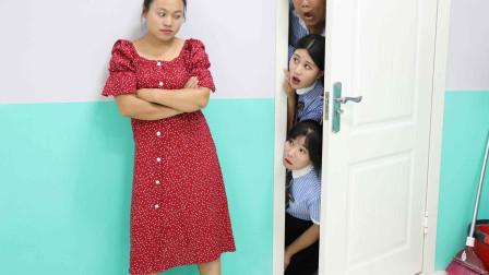 """学霸王小九校园剧:全班集体迟到,没想学渣的理由是""""在家里迷路了"""",真是太逗了"""