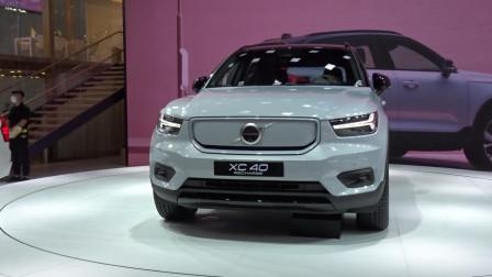 2020北京车展 沃尔沃全电气化阵容参展首款纯电动汽车XC40 RECHARGE亮相