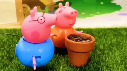 宝贝益智:猪妈妈种的花不见了,聪明的佩奇要帮妈妈找回来