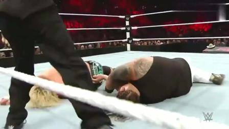 WWE:道夫遭遇克星,这次依旧没能一雪前耻,真是窝囊至极