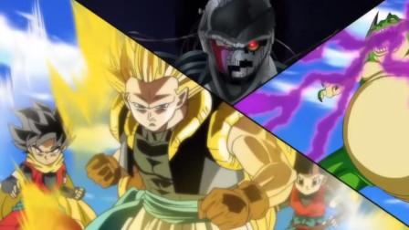 龙珠新时代第27话:贝吉塔超三不是傀儡超一的对手,转生完成