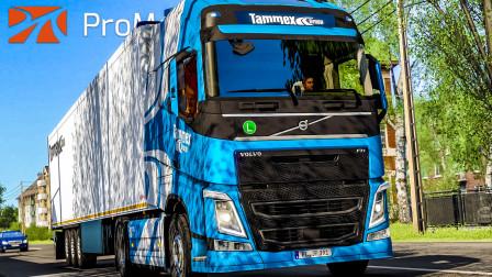 欧洲卡车模拟2 #357:穿过库尔斯沙嘴 运送香肠至加里宁格勒 | Euro Truck Simulator 2