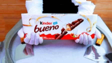 美食达人新创意,用巧克力威化炒酸奶,成品一出很惊艳!